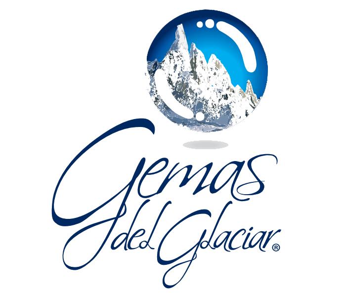 Logo gemas del glaciar.